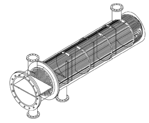 Tube and Shell Heat Exchanger Parts