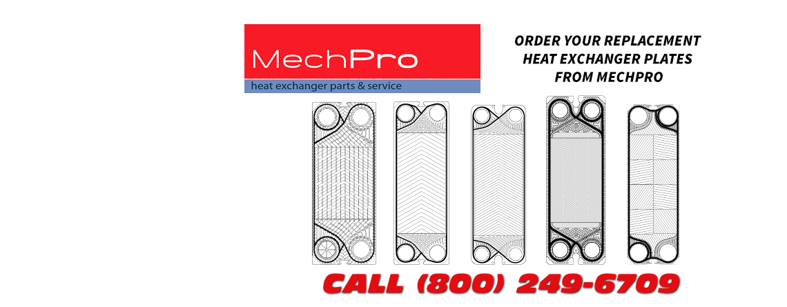 Plate Heat Exchanger Plates