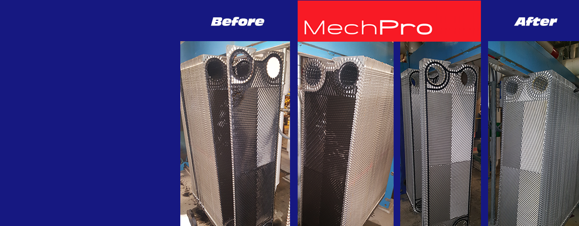 Heat Exchanger Plate Cleaning