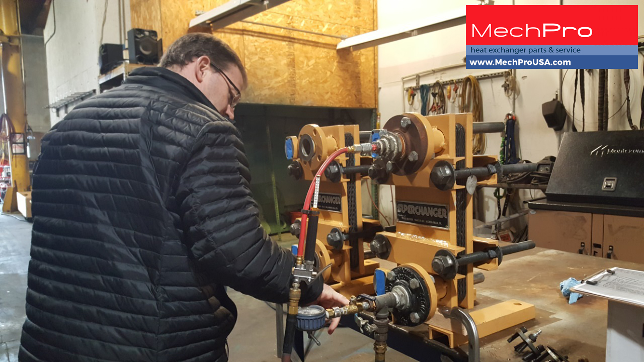 MechPro Provides Heat Exchanger Services to the US Coast Guard