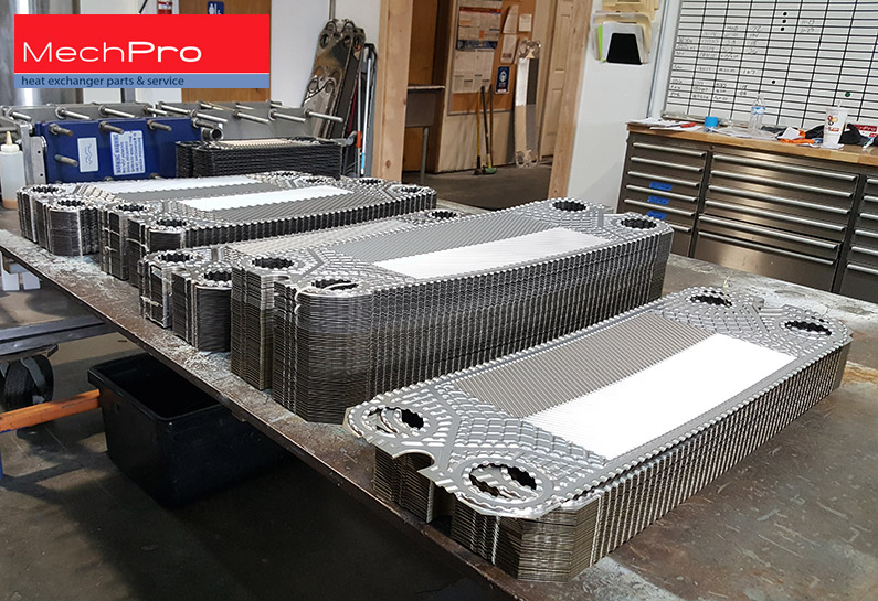 heat exchanger spares plates MechPro Inc.