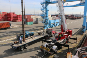 2  Fuel Transfer Pumps Removal Project from Fuel Barge in Tacoma, Washington