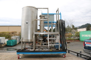 Mobile Clean-in-place Heat Exchanger Unit (CIP)