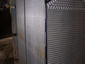 Heat Exchanger Plate After Cleaning