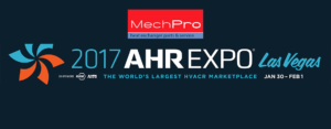 AHR Expo Las Vegas 2017 : MechPro Heat Exchangers