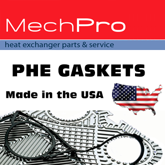 MechPro Plate Heat Exchanger Gasket Replacements